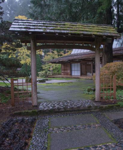 Bloedel Reserve Japanese Garden Entrance Gate